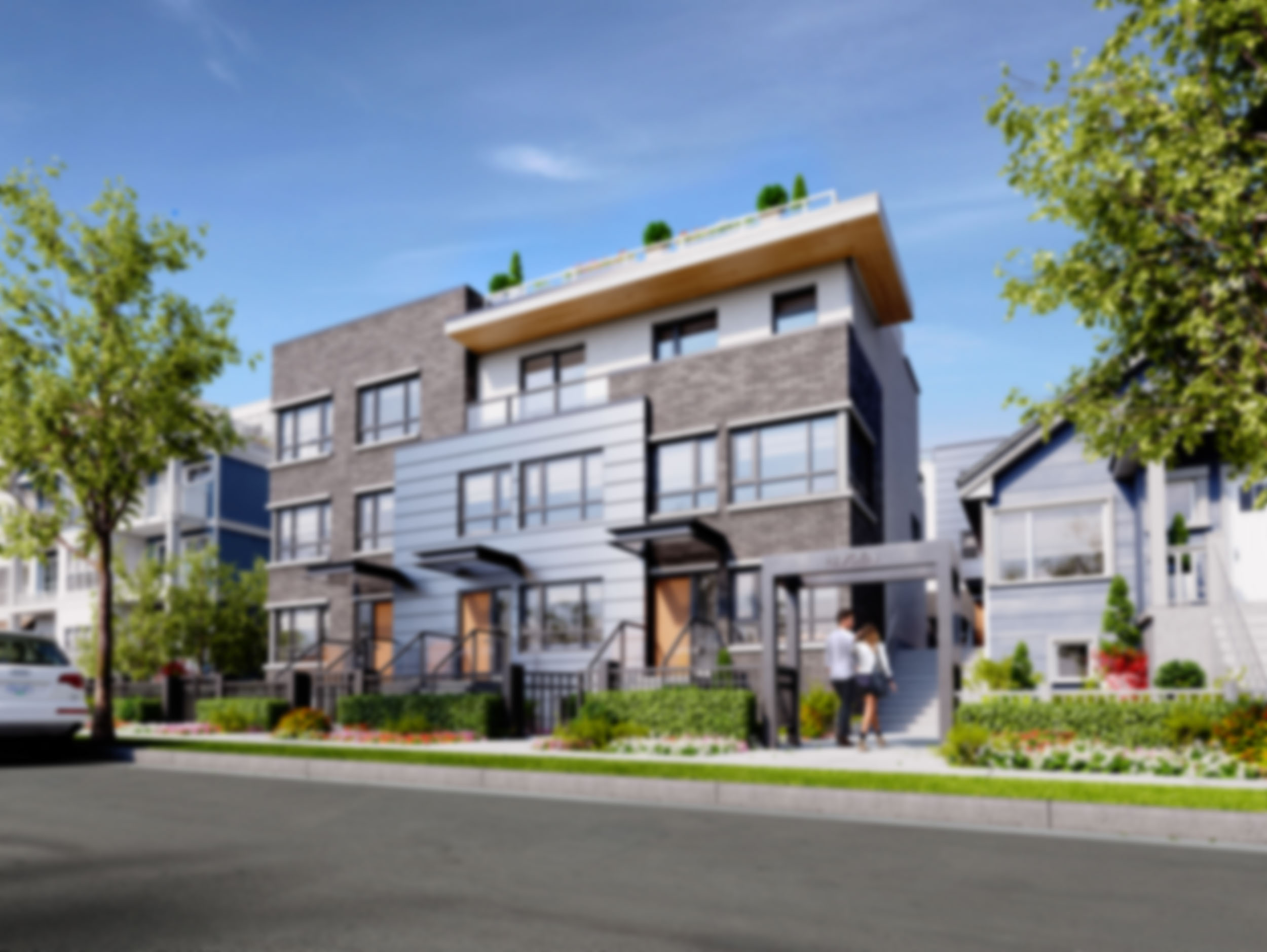 hayden a boutique collection of modern townhomes in mt pleasant